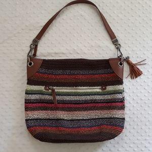 The Sak crochet bag purse handbag multicolor